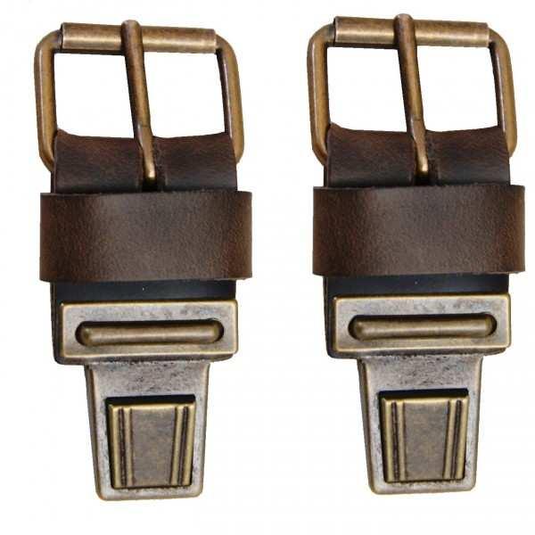 Ersatzschnallen für Aktentaschen Ranger-Leder