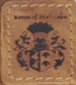 Freiherr von Maltzahn Ledertaschen Wappen